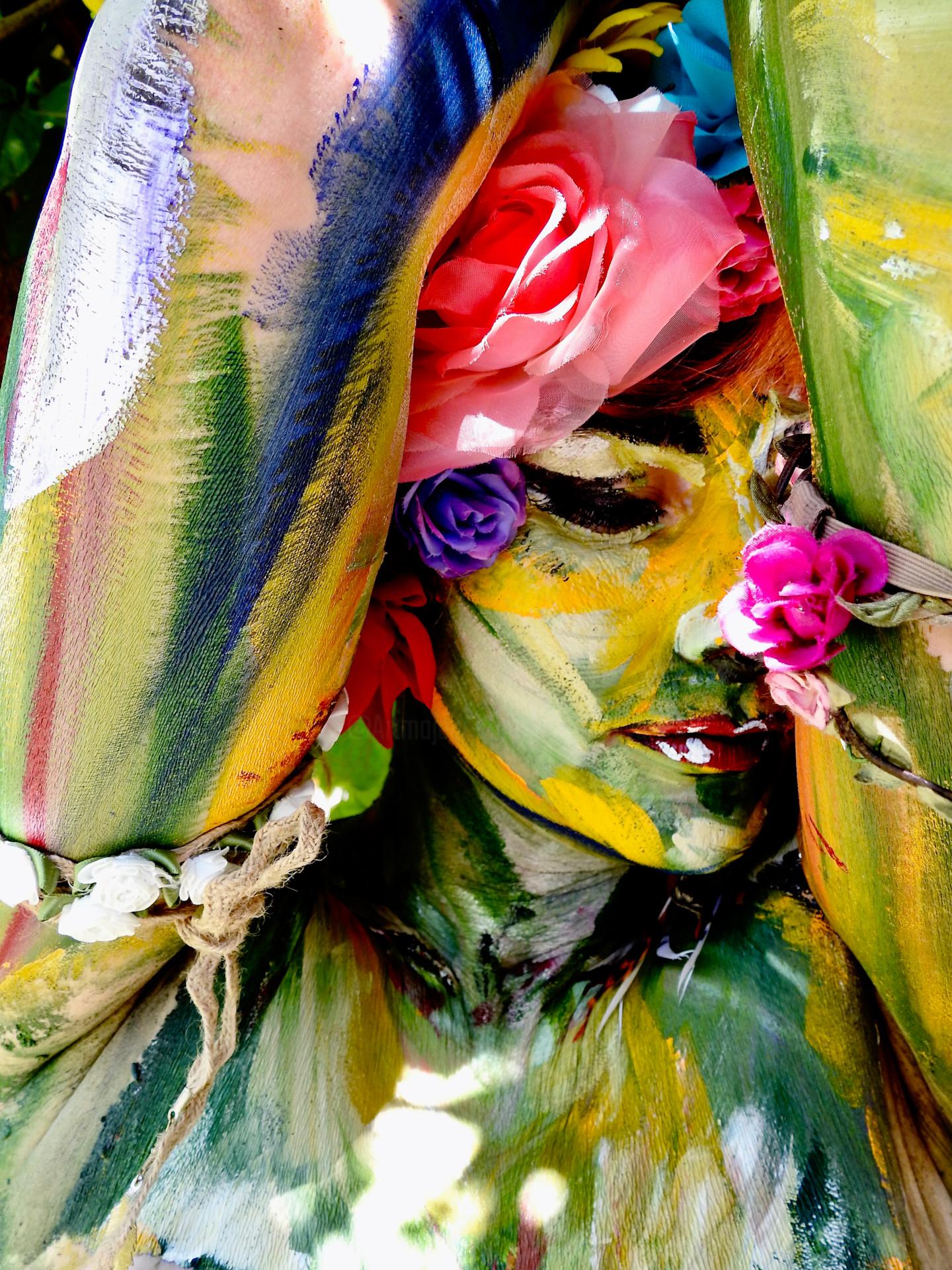Mata - Femme fleur